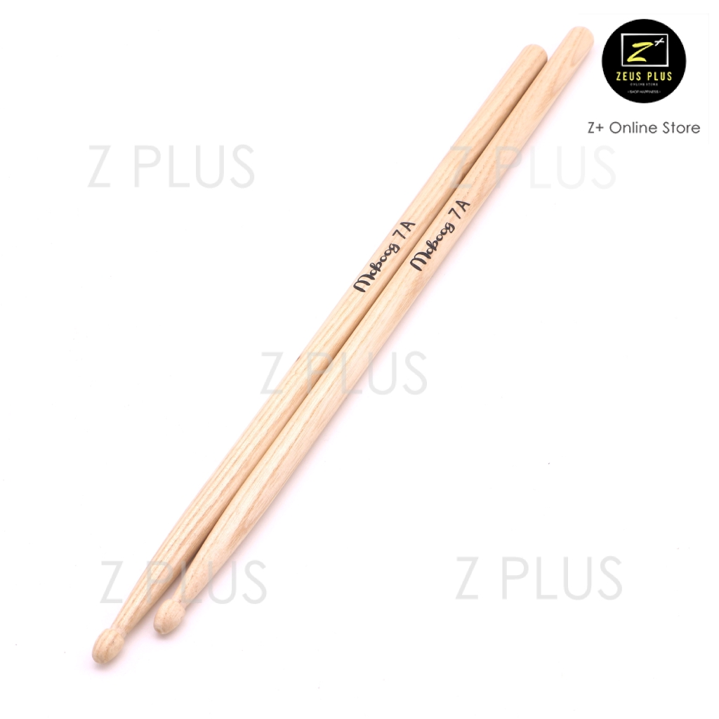 *GREAT GIFT* New High Quality Maple Wood 7A Drum Sticks A Pair Band Approved