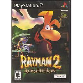 PS2  Rayman 2 Revolution / Rayman 3 Hoodlum Havoc / Rayman Arena / Rayman M [Burning Disk]