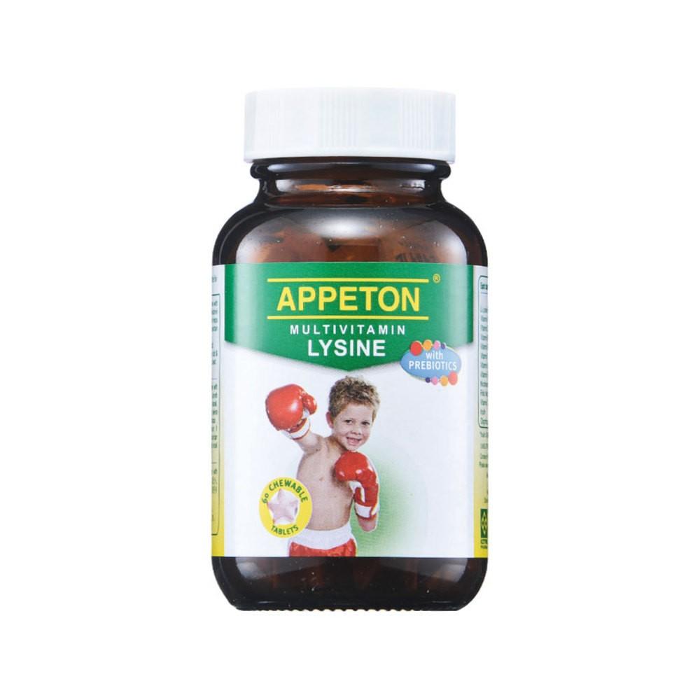 Appeton Multivitamin Lysine With Prebiotics Chewable 60s Shopee Syrup Malaysia