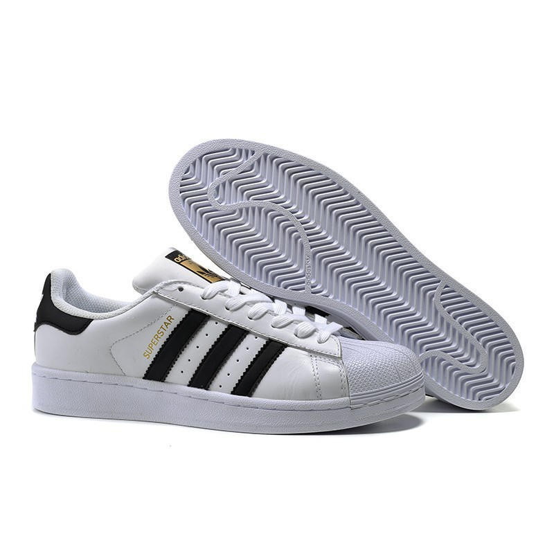los angeles 0fa5d e81c9 Original Kasut Adidas superstar sneakers gold men women casual shoes