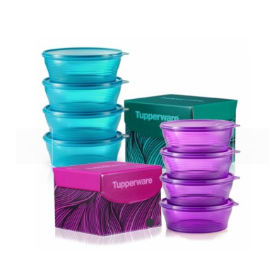 Tupperware Big Wonders Set 1 Piece Blue Biru Purple Ungu