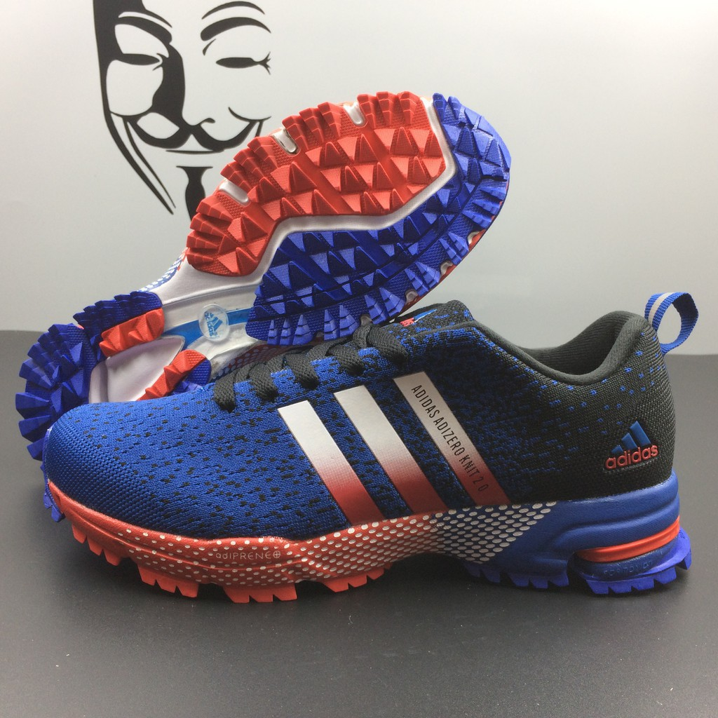 best service 8d04e 6a69f adidas adizero knit2.0 running shoes man shoes sporting shoes weave shoes  blue  Shopee Malaysia