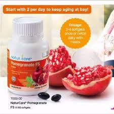 *NaturCare* Tupperware Pomegranate (1) 60 softgels