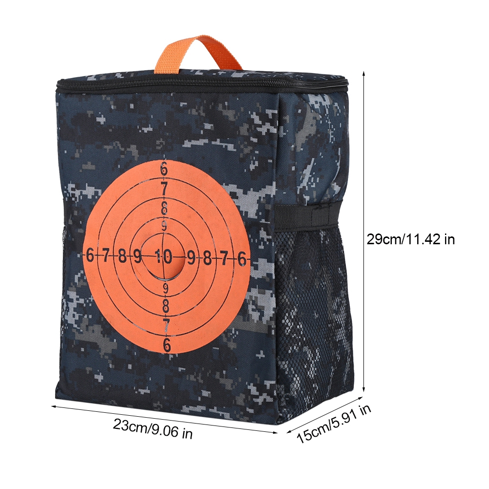 New Target Pouch Blasters Bullet Darts Storage Compact Bag For Tactical