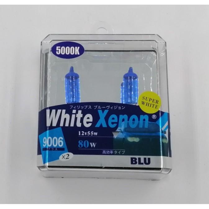 BBL9006WX- 9006 12V 55W (80W) 5000K BULB (WHITE XENON)