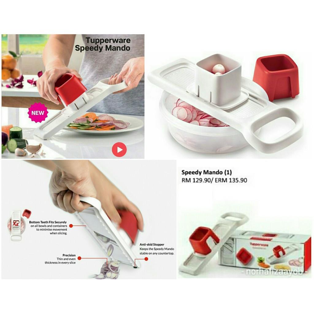 💜💜 Sagat Tupperware Speedy Mando Red 💜💜