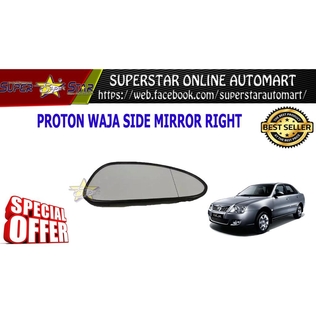 Proton Waja Side Mirror Glass Right Side
