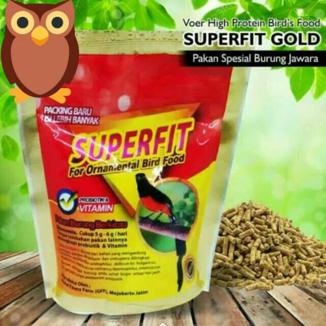 Superfit Gold Pakan Voer High Protein For Bird Shopee Malaysia