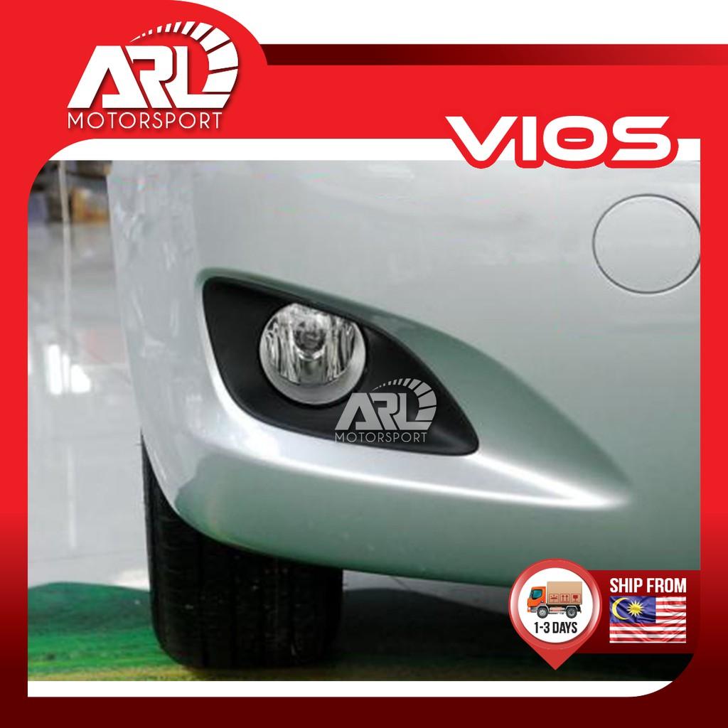 Toyota Vios (2007-2012) NCP93 Fog Light Lamp Cover Black Car Auto Acccessories ARL Motorsport
