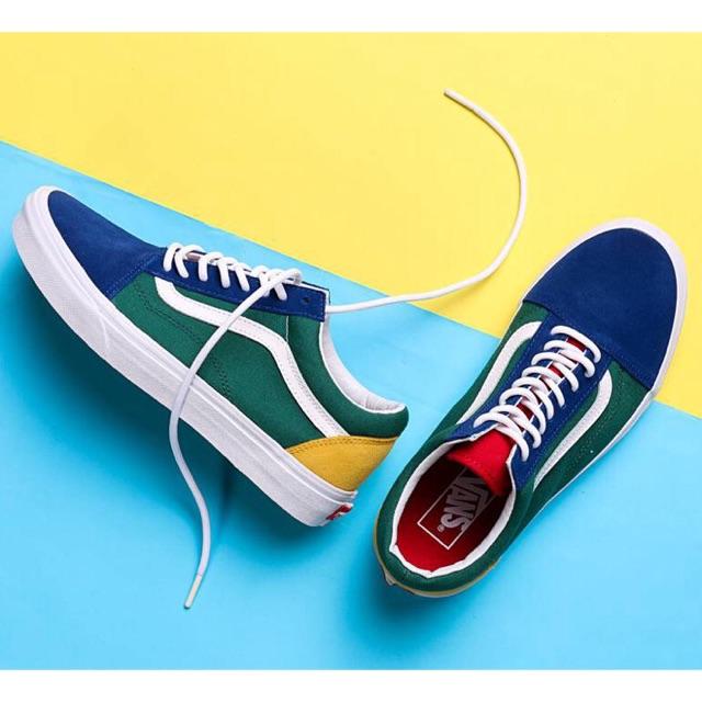 3355ca56101 Vans Rasta Old Skool Black Women Sneakers