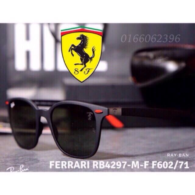 a42bb52761 RAYBAN FERRARI SEBASTIAN VETTEL ROUND RB3602M WITH GRADIENT GREY 1 1  QUALITY