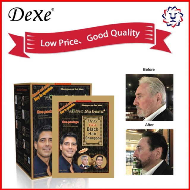 Dexe Yucaitang Fast Black Hair Shampoo 1 SACHETS
