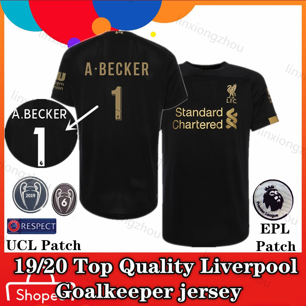 huge discount 9a010 ff577 19/20 Top Qualtiy Liverpool goalkeeper jersey Football Jersey Soccer Jersey