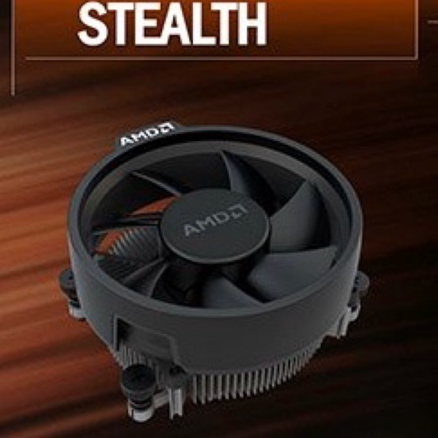 Amd Wraith Stealth Cpu Cooler For Am4 Socket Shopee Malaysia