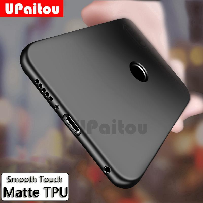 quality design 8411c 8bc22 Huawei Honor 7C 7A Pro 7S Phone Case Black Silicone Soft TPU Back Cover Case