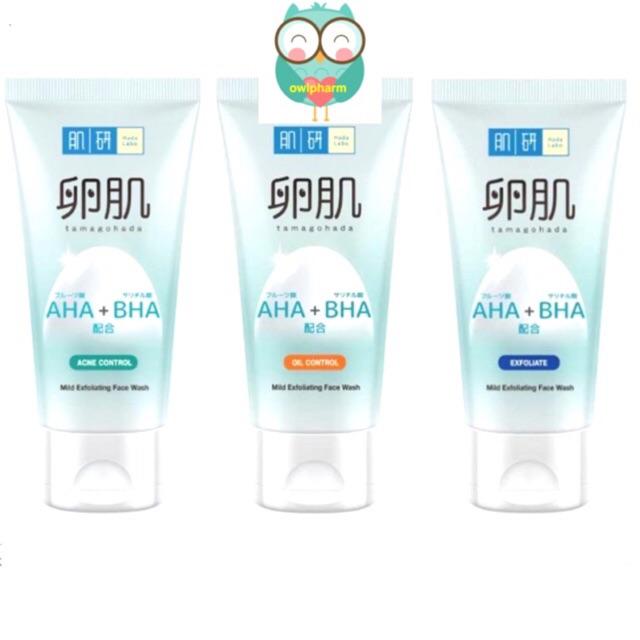 HADA LABO AHA+BHA Face Wash