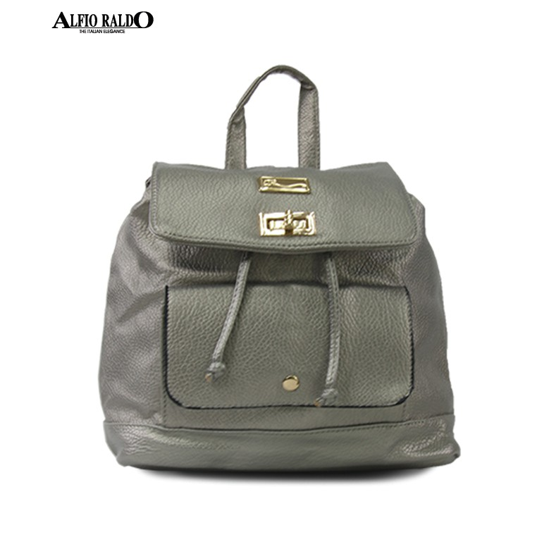 AR by Alfio Raldo Metallic Colored Backpack