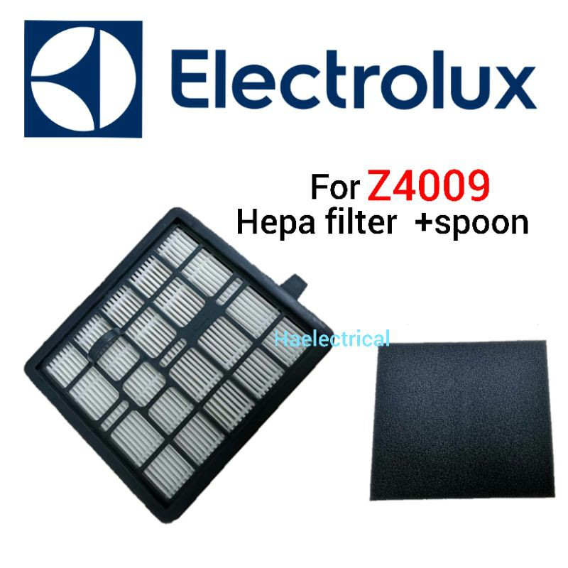 Electrolux vacuum cleaner hepa filter with spoon Z4009