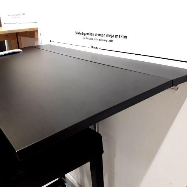Ikea Bjursta Wall Mounted Foldable