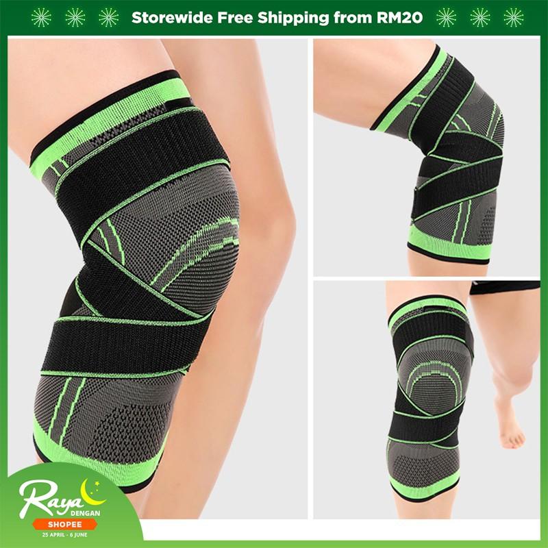 0107336b65 Aluminium Knee Double-Hinged Support Medical Grade Breathable Open Patella  Brace | Shopee Malaysia