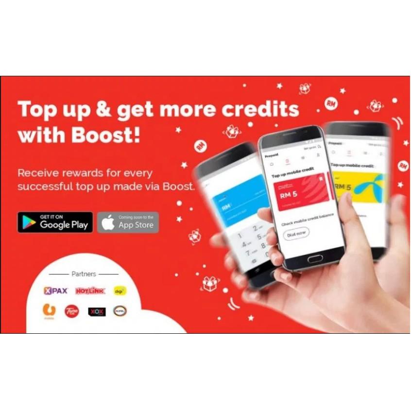 Boost credit reload - 1 1% Fee