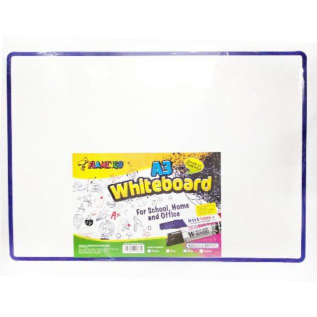 💥💥 Flamingo Memo Mini Whiteboard Lightweight A3 Size 🔥🔥 (Ready Stock)