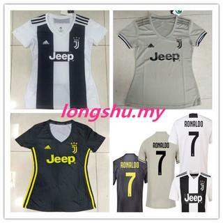 huge selection of d83b7 95843 2018-2019 Juventus Away Women Home 3rd Soccer Jersey Shirt ...
