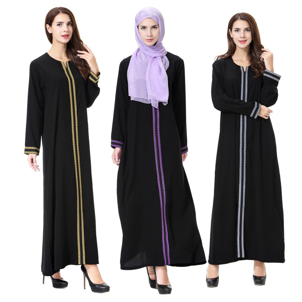 Muslimah Tunic Jubah Online Shopping Sales And Promotions Atasan Raya Beige Shop At Velvet Muslim Fashion Sept 2018 Shopee Malaysia