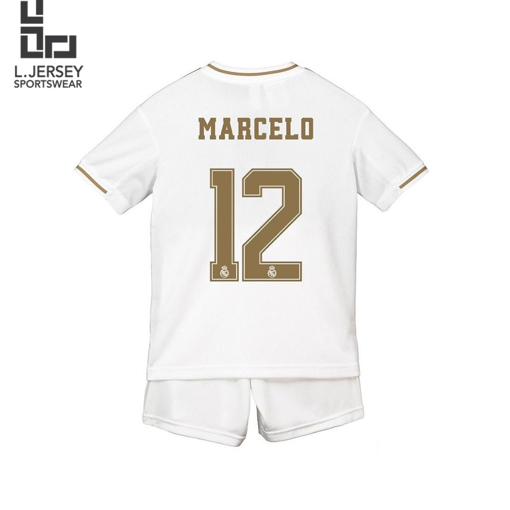 Real Madrid Kid Home Season 19/20 CLIMALITE Fans Jersey