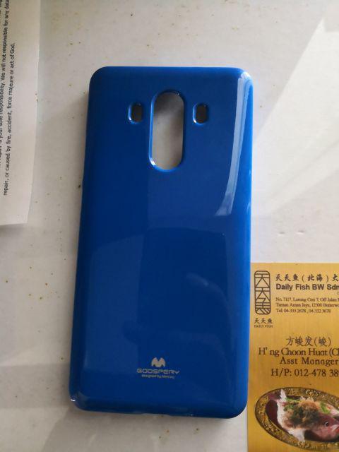 Mercury Goospery Jelly Pearl Case Casing Cover Huawei Mate