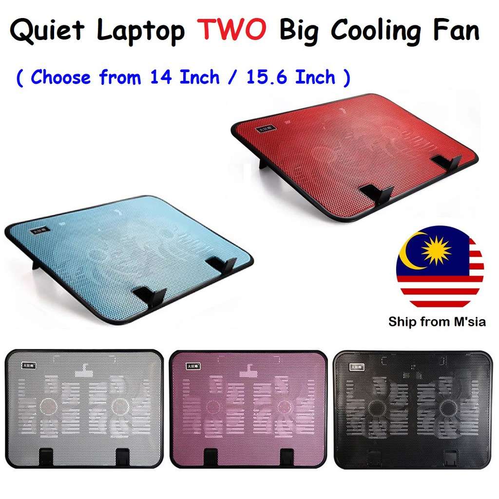 🆕E-TABLE Portable Foldable Laptop Notebook Table &Cooler Cooling Fan Meja Lipat | Shopee Malaysia