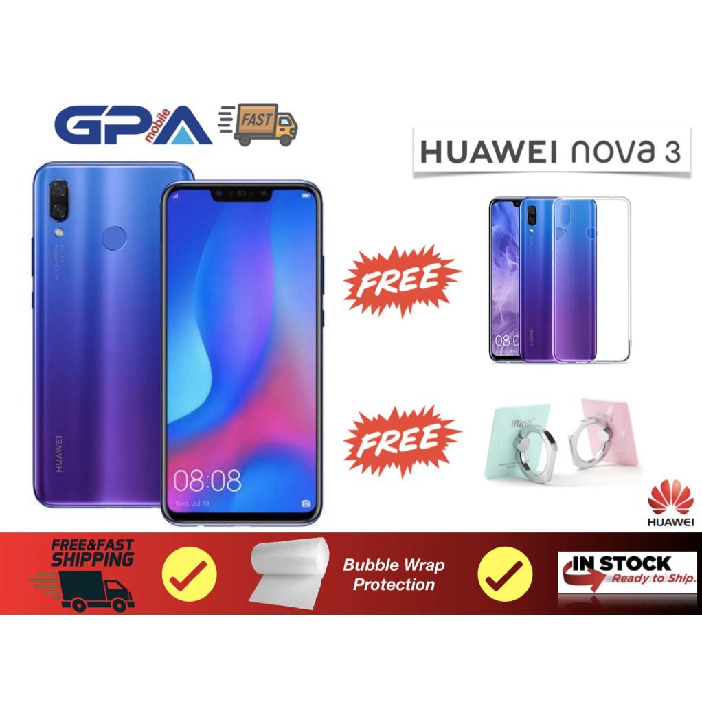 Huawei Nova 3 6GB Ram+128GB Rom(Original Malaysia Set)