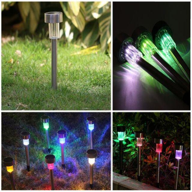 Solar Garden Light Outdoor Lighting Lampu Taman Solar Shopee Malaysia