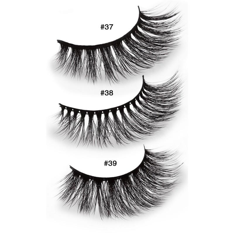 6f0a63cf30e 3D mink false eyelashes 3D multi-layer eyelashes pair   Shopee Malaysia