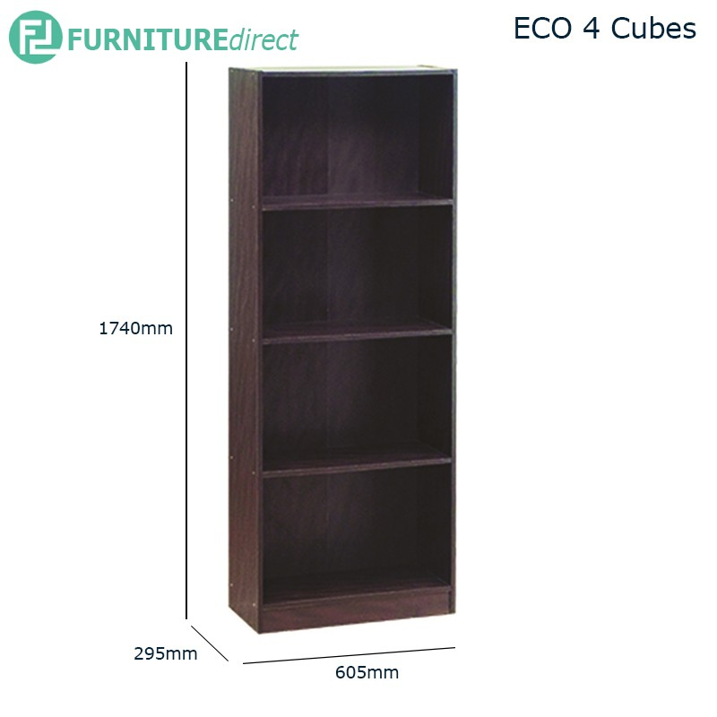 EKO filling cabinet bookcase bookshelf/ rak buku/ rak buku kayu/ rak buku murah