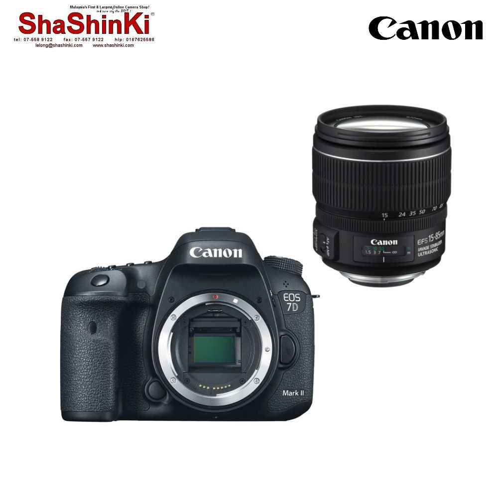 Canon Eos 7d Mark Ii Dslr Camera Body Only Import Shopee Malaysia 6d Kit 24 105mm F 35 56 Is Stm Wifi And Gps