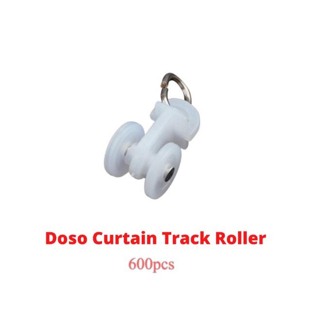 (WHOLESALE) Doso Super Curtain Roller Roda Rod Langsir (Curtain Track) (600pcs)