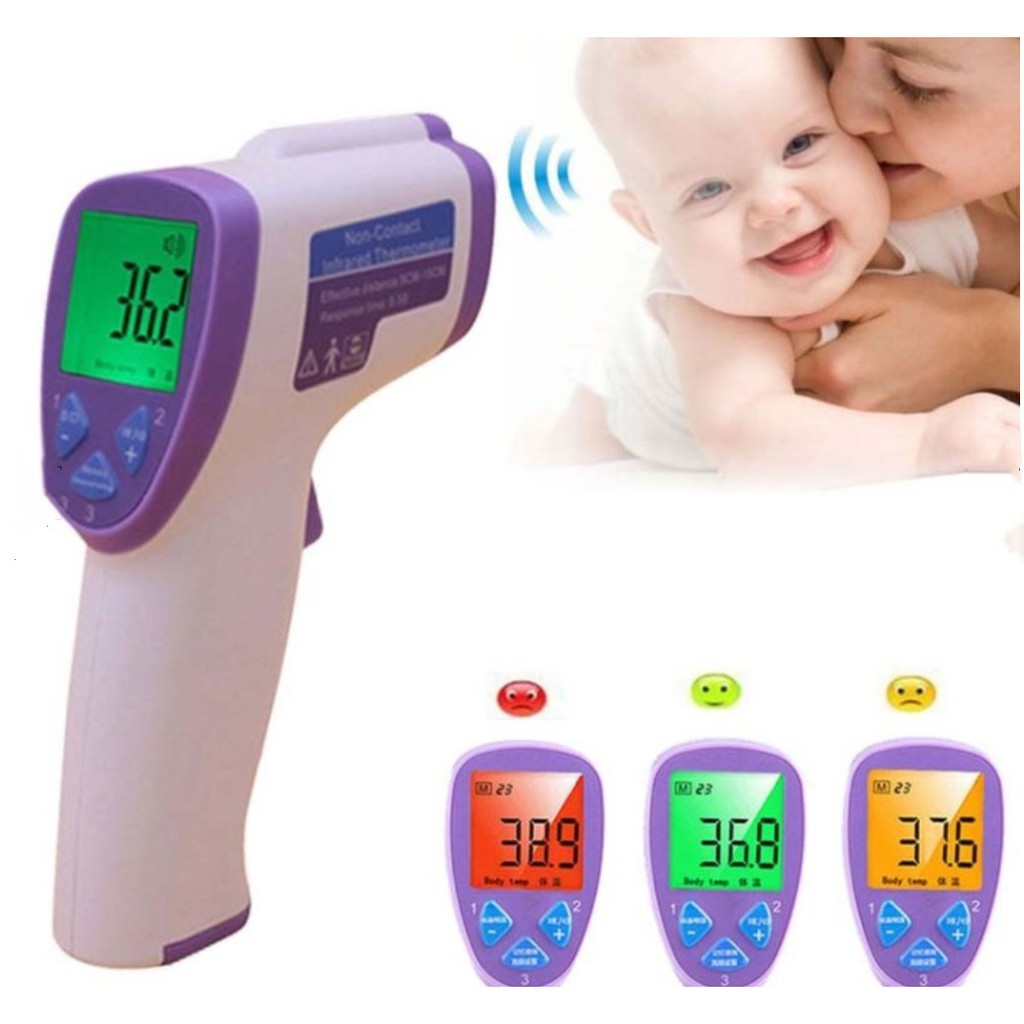 Baby Care Mother & Kids Shujin Medical Ear Infrared Thermometer Adult Baby Body Fever Temperature Measurement High Accurate Family Health Care