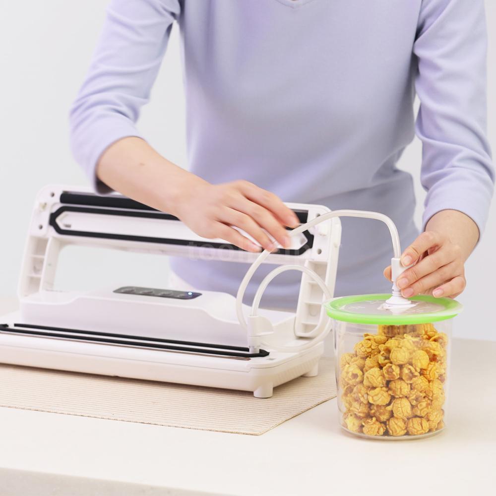 5b01e940d1b2 REELANX Household Automatic Vacuum Sealer Fresh Food Saver Vacuum Packaging  Sealing Machine with Suc