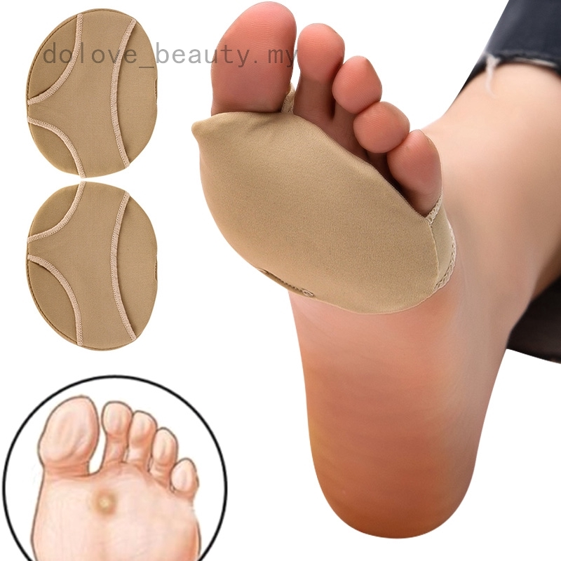1Pair Gel Forefoot Ball Foot Silicone Shoes Insoles Pad Insert Cushion Support W
