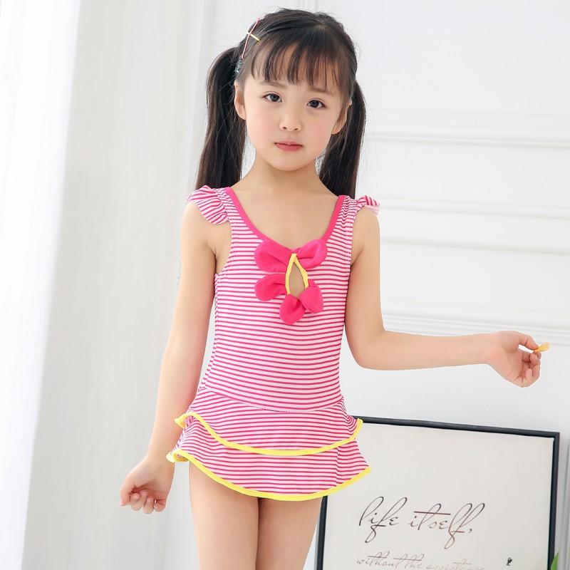 9b106529a5148 Korean cute princess girl swimsuit -10-12-13-15 primary school skirt  swimsuit | Shopee Malaysia