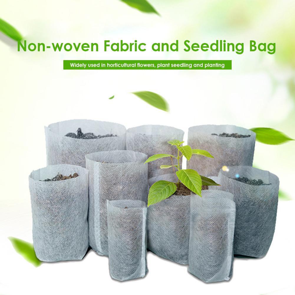 Plant Nursery Bags Grow seedling-raising Biodegradable Fabric Pots For Plants