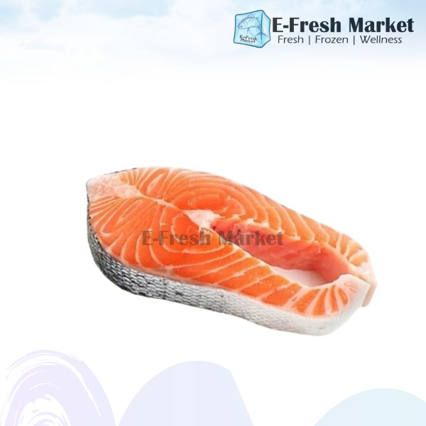Atlantic Chilean Salmon Steak, ±200g (Penang Only)