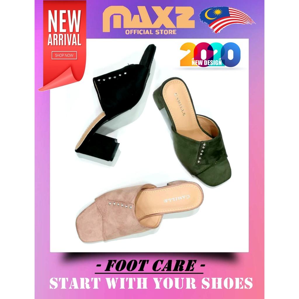 2020 Latest Design Chunky-Heel Lady Luxury Fashion/Formal Sandal 211-711[Ready Stock]