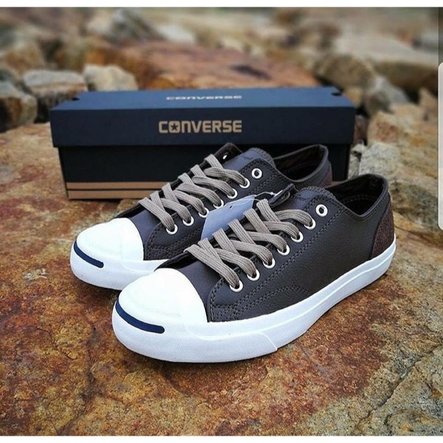 2c4bc1c23fc1 CONVERSE Official Jack Purcell L S Contrast Color Stitching Opening Smile  158333
