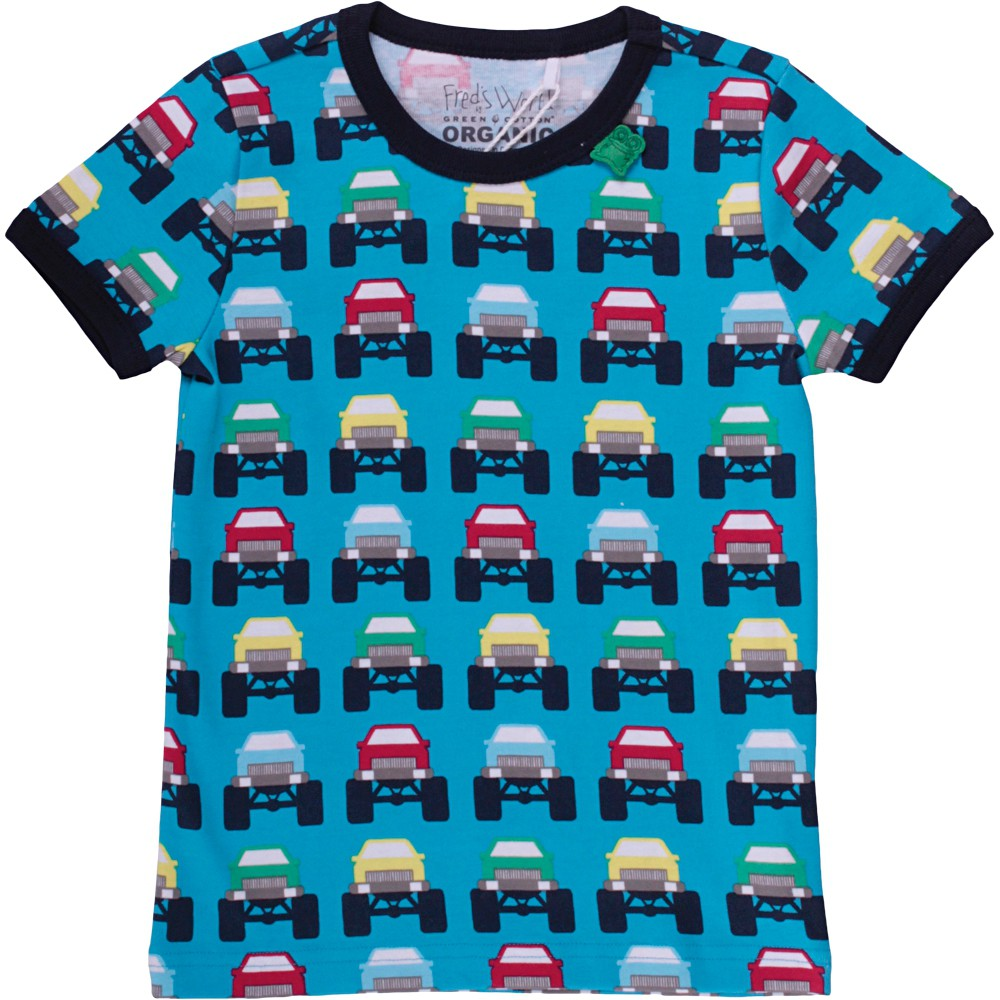 Unisex Infant Short Sleeve T-Shirt Cookie Swirl Logo Toddler Kids Organic Cotton Graphic Tee Tops