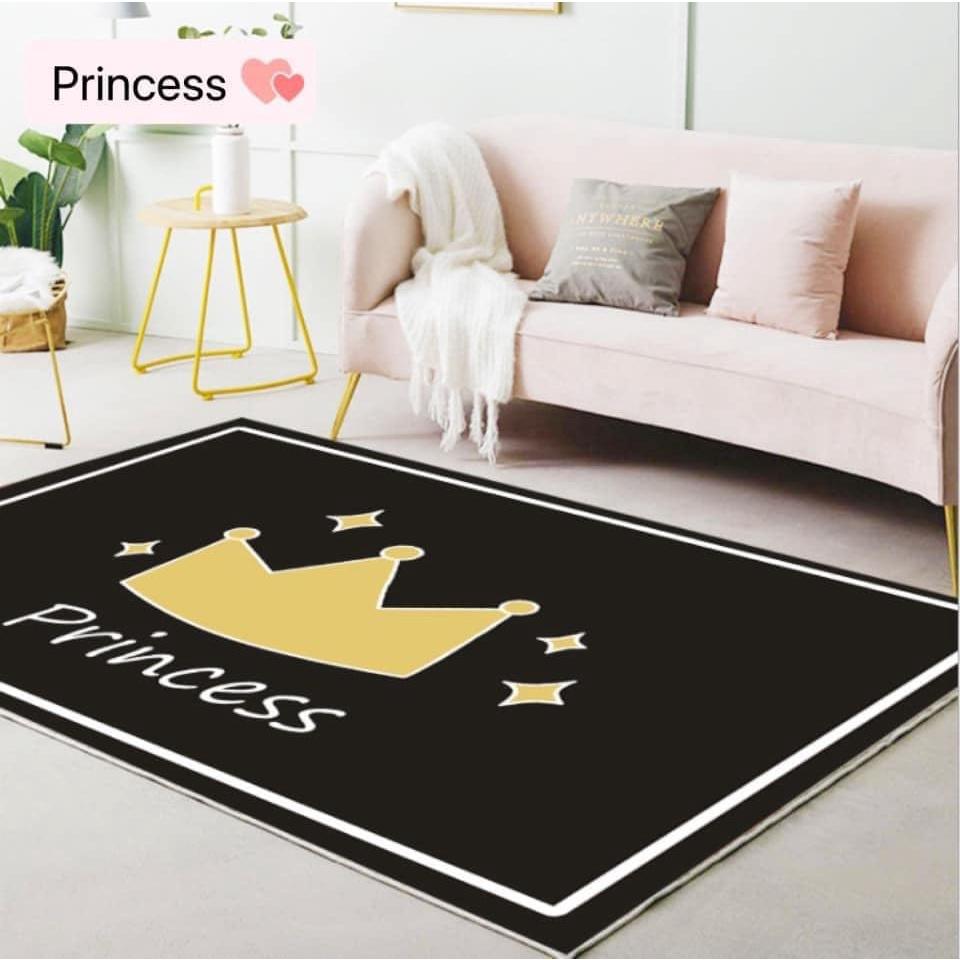 [ Ready Stock ] Cartoon cartoon simple carpet | Bedroom bedside carpet | Children's crawling carpet | 床边地毯