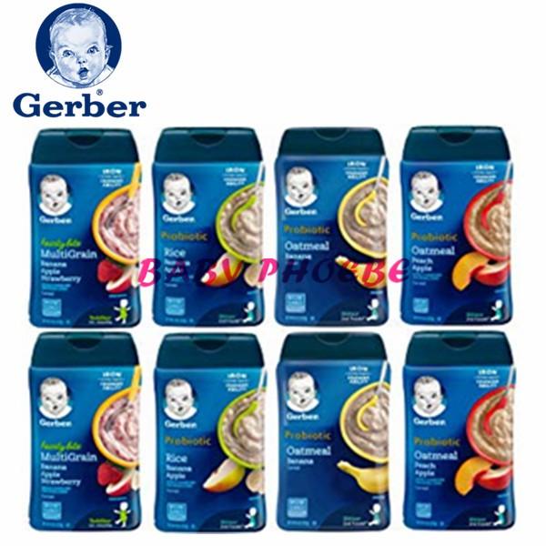 Gerber Baby Cereal Rice/Oatmeal/Mutigrain/Wheat 227G