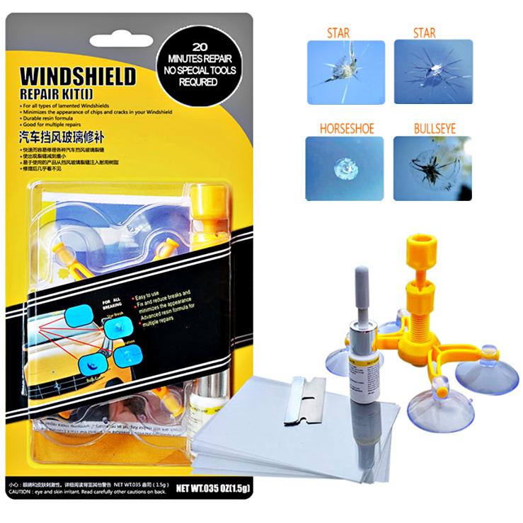 Glass Cracks Windshield Repair Kit Car Windscreen Window Mobile Phone Screen Scratch Recovery Glue / Gam Cermin Kereta
