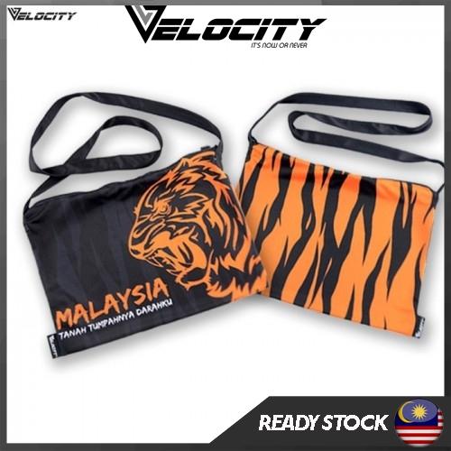 [READY STOCK] Velocity Velocool Sport Sling Bag Malaysia Orange For Men or Women